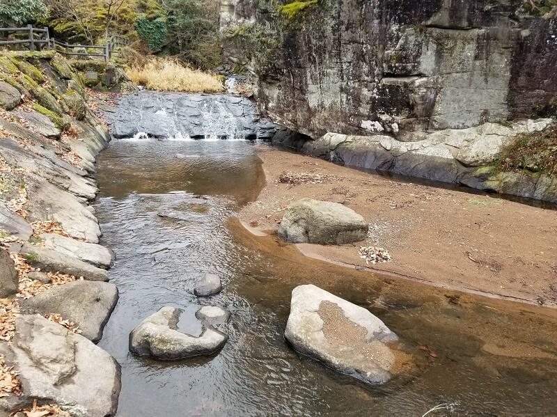 よかろうパークキャンプ場 河川プール