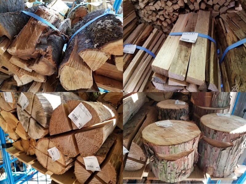 道の駅あそ望の郷くぎの 薪の販売アリ