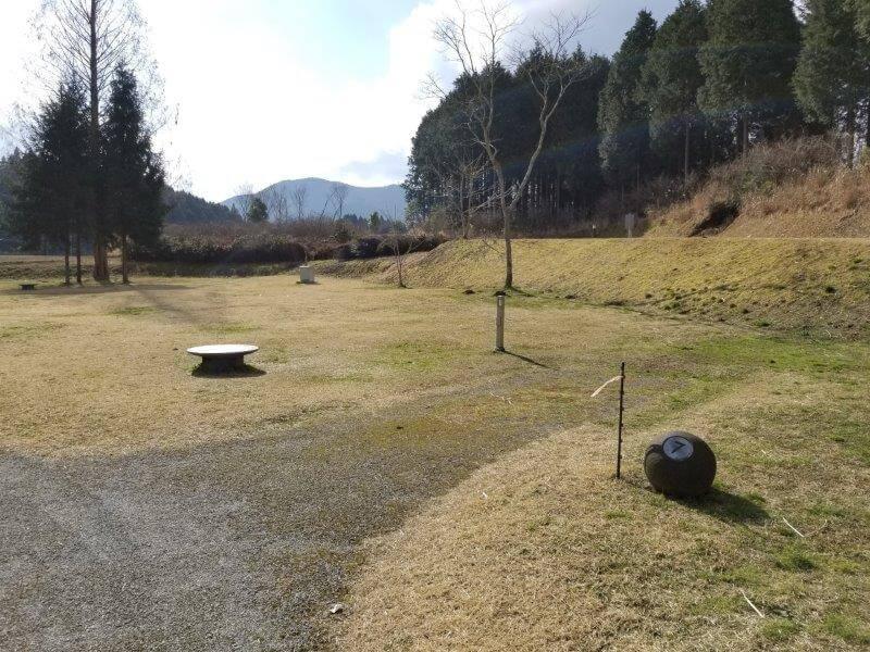 服掛松キャンプ場のオートサイト 7番サイト