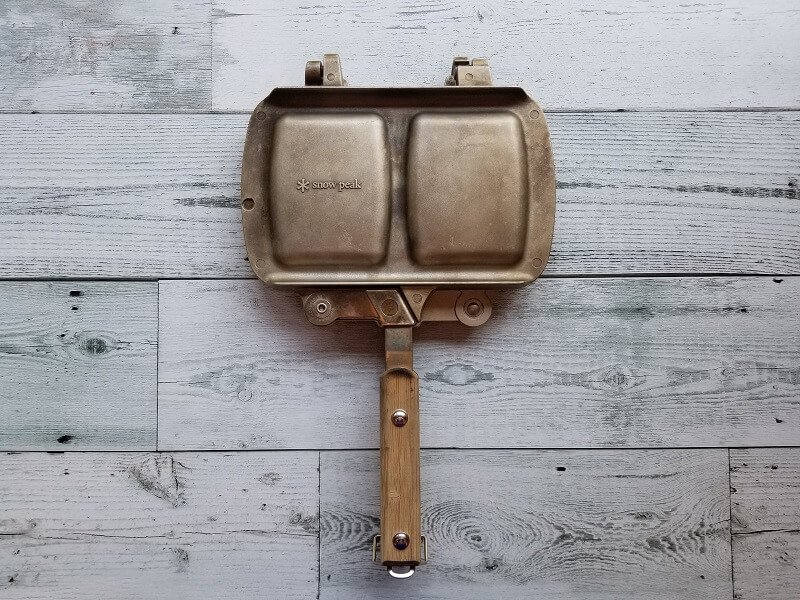スノーピークのホットサンドクッカー トラメジーノ
