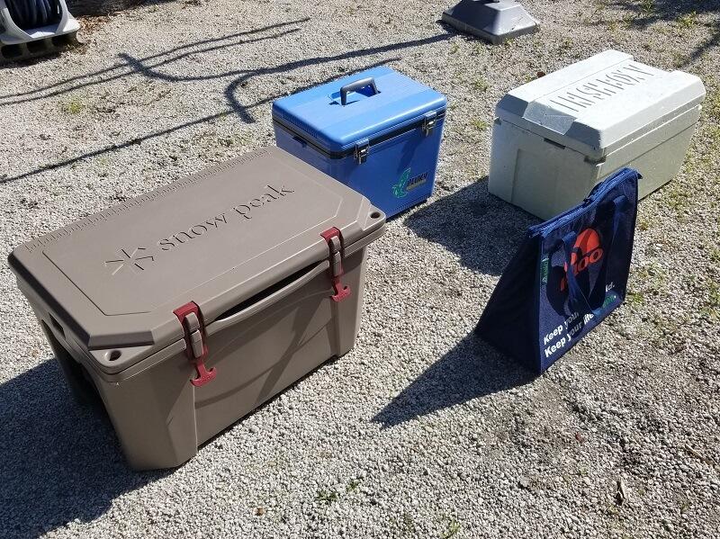 クーラーボックスの保冷力を検証