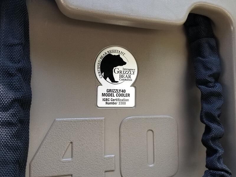 スノーピーク ハードロッククーラー40QT グリズリー社コラボ