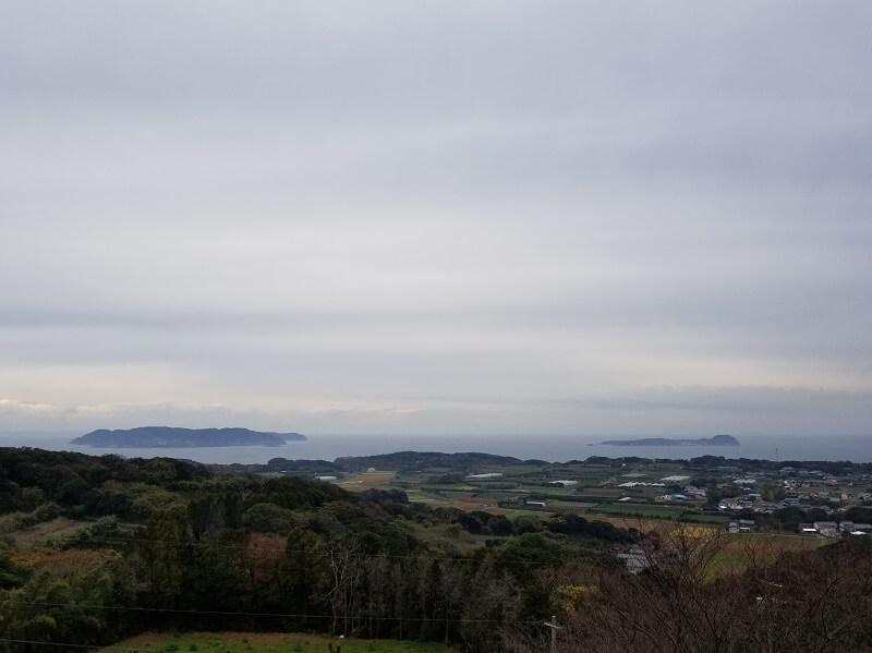 加部島 風の見える丘公園から見る玄界灘の景色