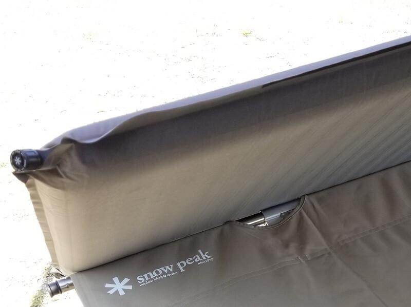 スノーピーク「キャンピングマット2.5w」6.2cmの極厚マット