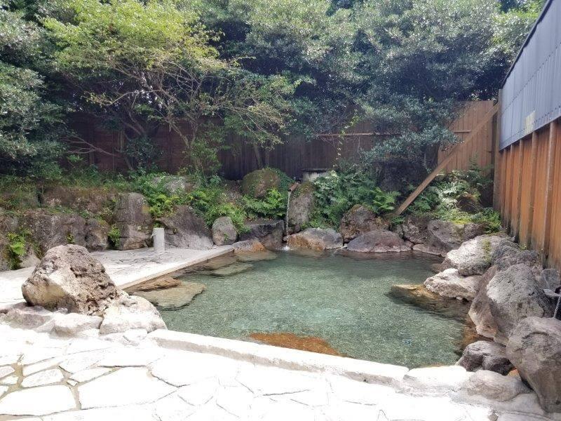 九重グリーンパーク泉水キャンプ村 露天風呂