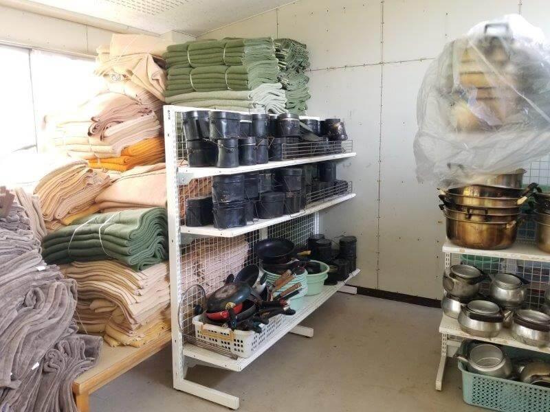 九重グリーンパーク泉水キャンプ村 レンタル品