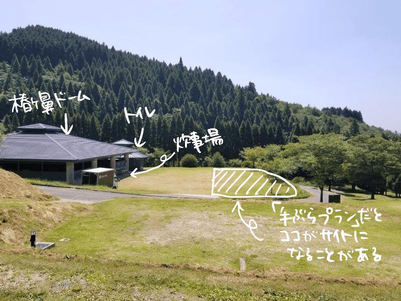 スノーピーク奥日田(区画電源オートEサイト)