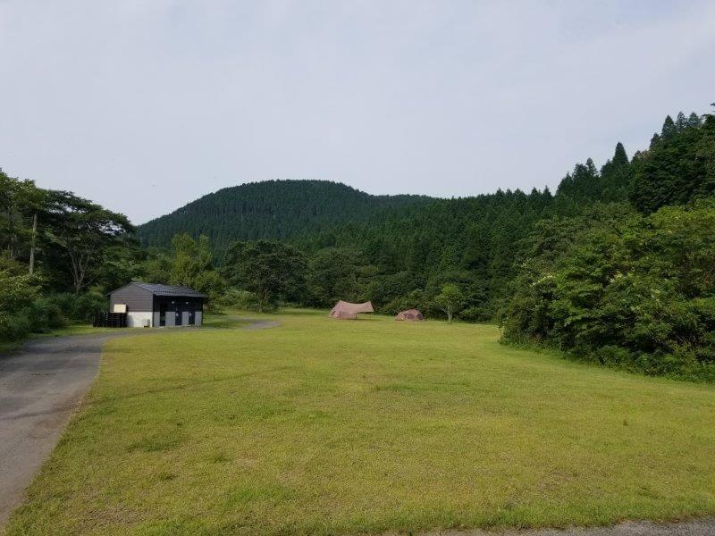 スノーピーク奥日田(フリーオートサイト)