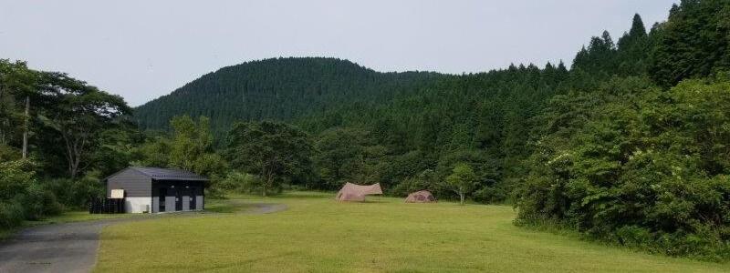 スノーピーク奥日田 フリーオートサイト