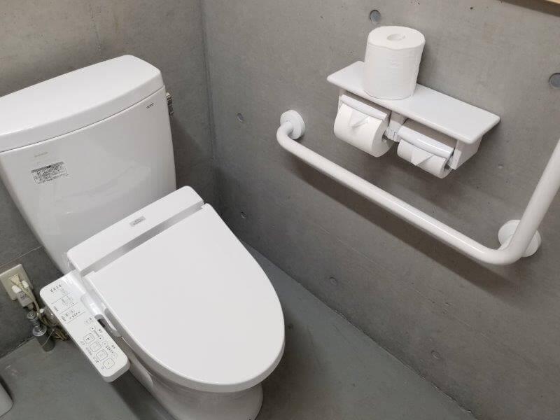 スノーピーク奥日田 Fサイトの洋式トイレ