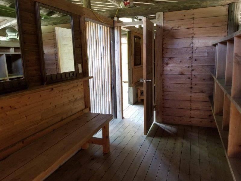 オートキャンプ竜門の露天風呂