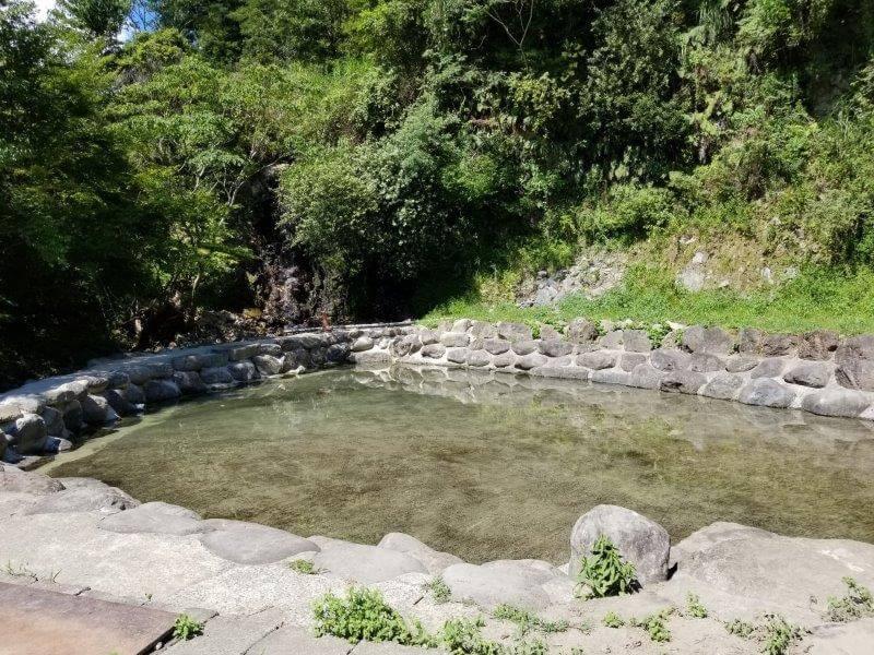 オートキャンプ竜門のプール