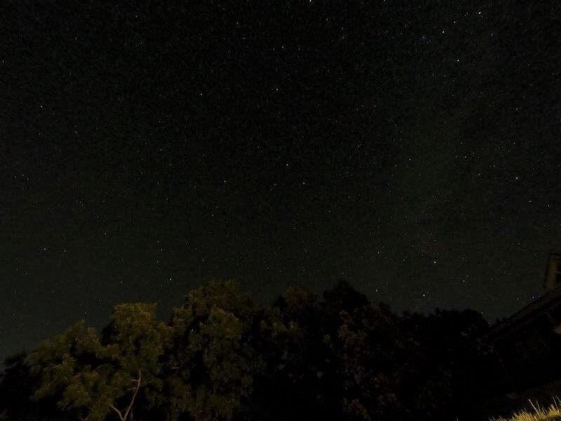 久住高原スパージュキャンプ場の星空
