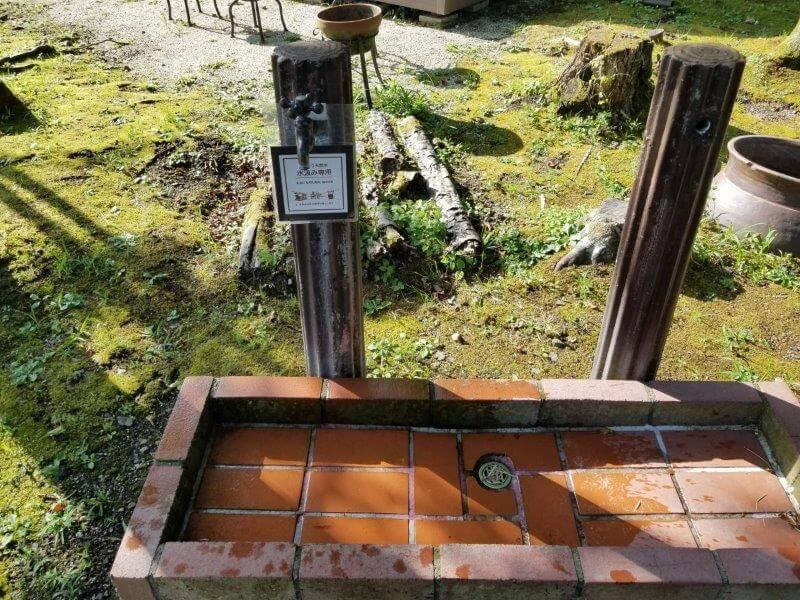 久住高原スパージュキャンプ場 水汲み場