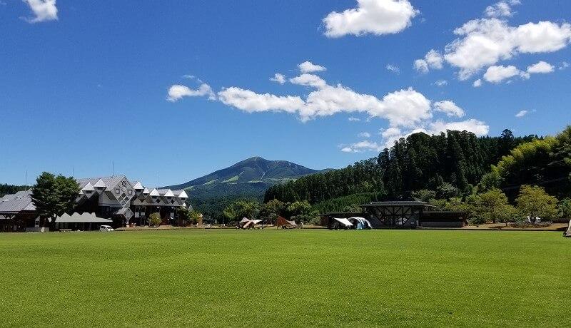 木魂館 キャンプ場