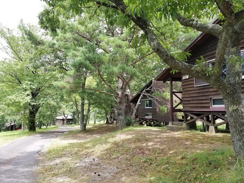 九重グリーンパーク泉水キャンプ村 中型ロッジ
