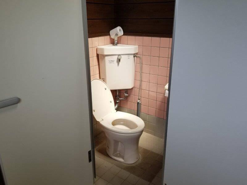 九重グリーンパーク泉水キャンプ村 トイレA