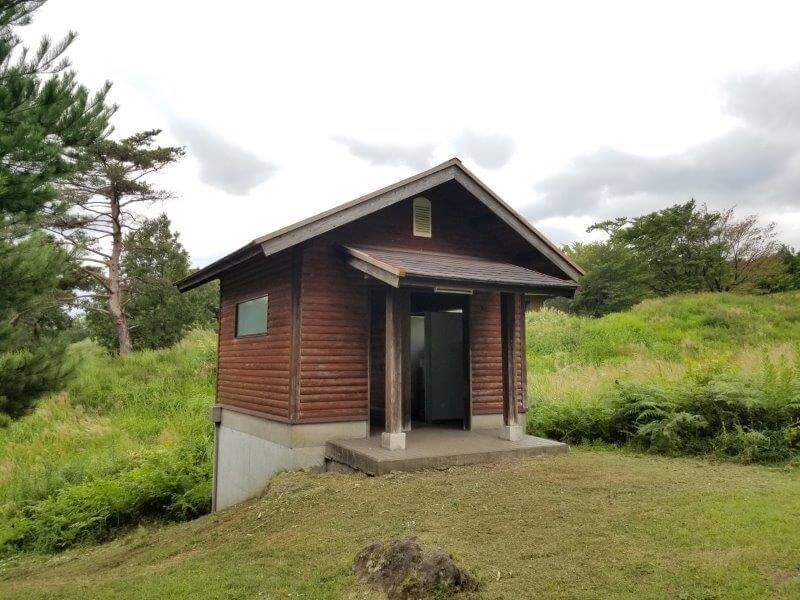 九重グリーンパーク泉水キャンプ村 トイレE