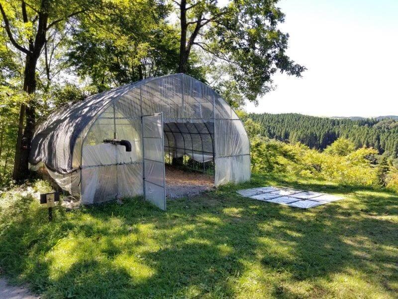 吉原ごんべえ村キャンプ場 全天候型ドームサイト