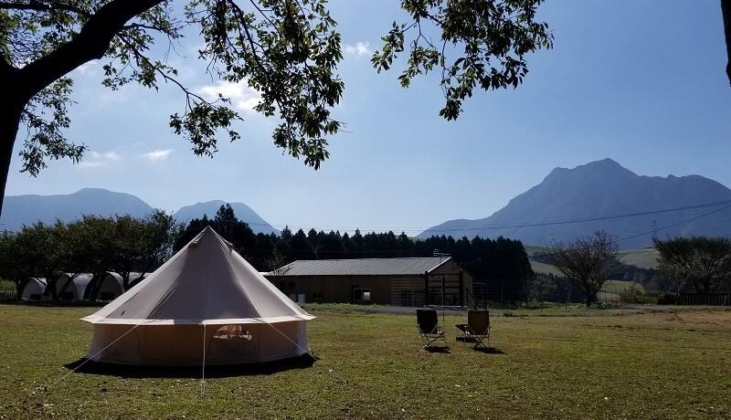 熊谷牧場・雛戸 ブルーベリー・キャンプガーデンでキャンプ