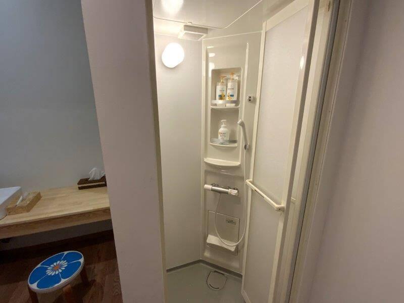熊谷牧場・雛戸 ブルーベリー・キャンプガーデンのシャワールーム