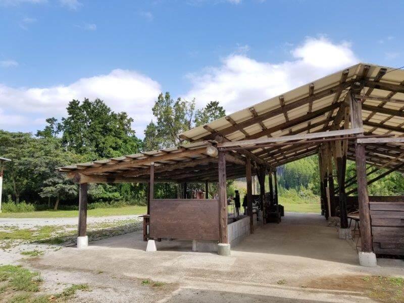 キャンプ&農園 玖珠の杜 炊事場