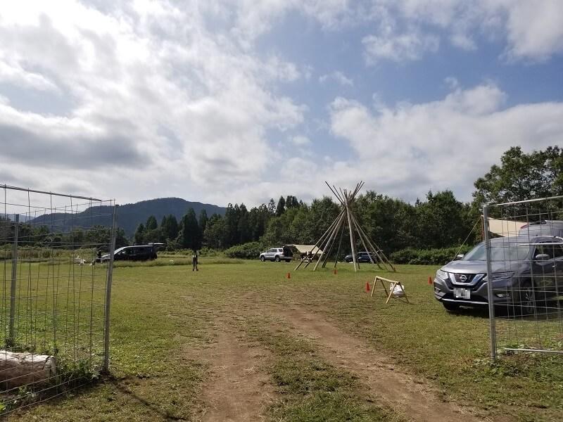 キャンプ&農園 玖珠の杜 芝生エリア