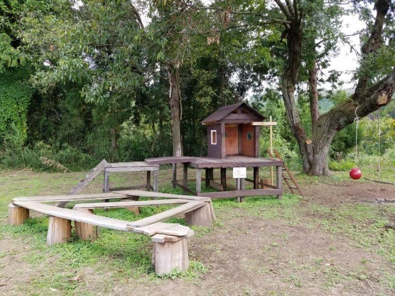 キャンプ&農園 玖珠の杜 遊具