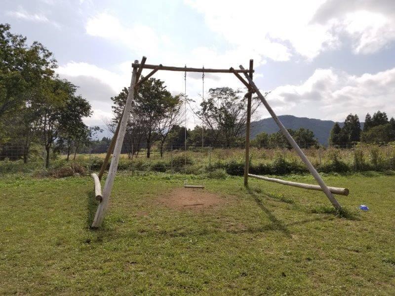 キャンプ&農園 玖珠の杜 ブランコ