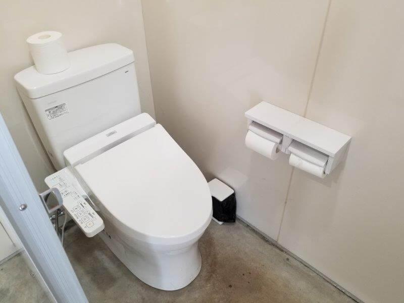 キャンプ&農園 玖珠の杜 トイレ