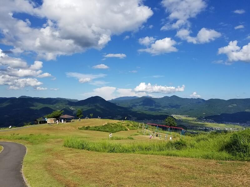 大分県玖珠 伐株山園地