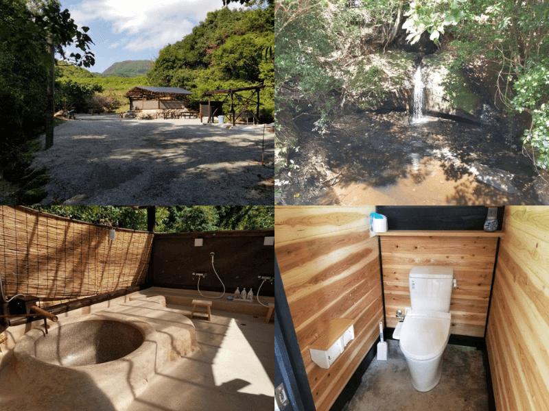 おさるのキャンプ場 1日1組限定の完全プライベートキャンプ場