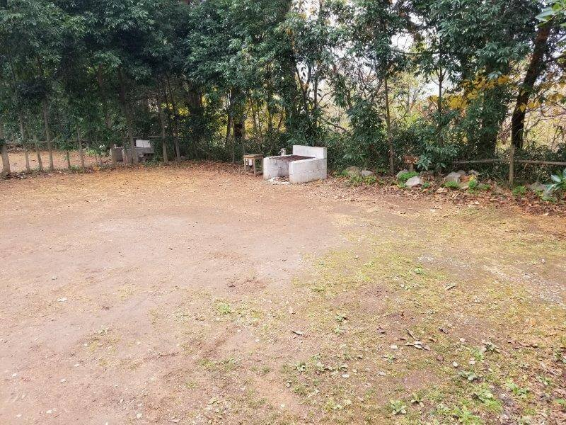 風の里キャンプ場 オートサイト 3番サイト
