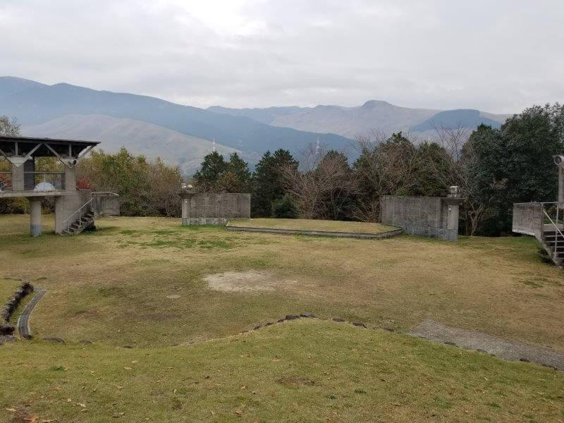 風の里キャンプ場 フリーサイト 野外ステージエリア