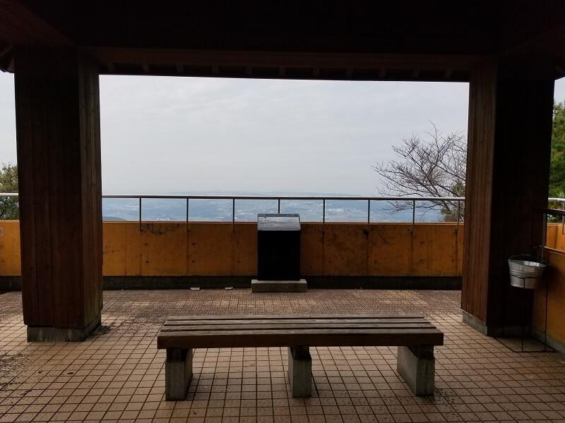 風の里キャンプ場 展望台