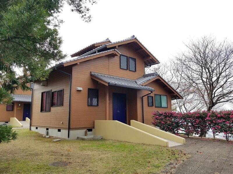 草枕山荘 ロッジ風宿泊施設 ロフトタイプ