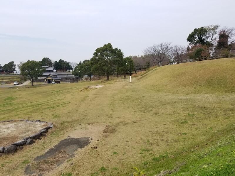 草枕山荘キャンプ場 東テントエリア