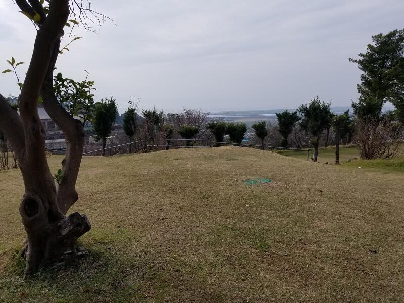 草枕山荘キャンプ場 西テントエリア