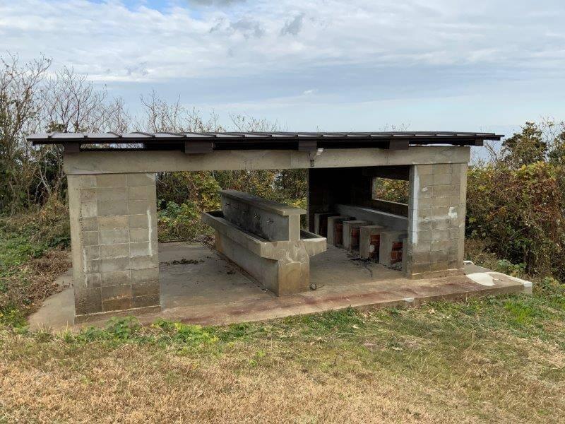 中瀬草原キャンプ場 炊事場