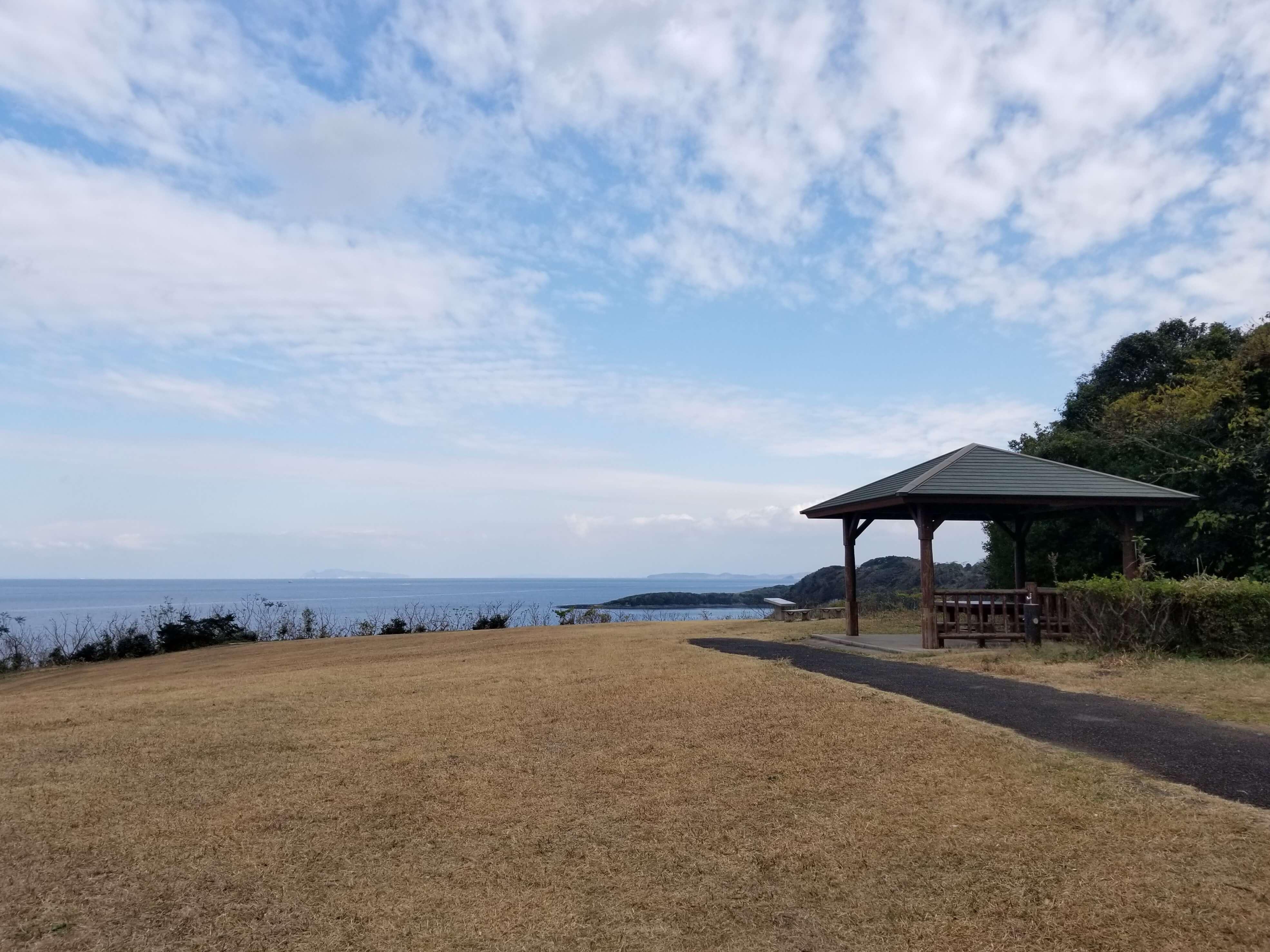 中瀬草原キャンプ場 展望サイト 最北エリア