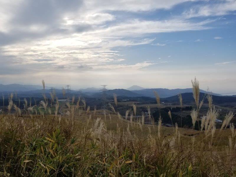 吉無田高原 緑の村キャンプ場 Aサイト:ゆうすげの丘エリアからの景色