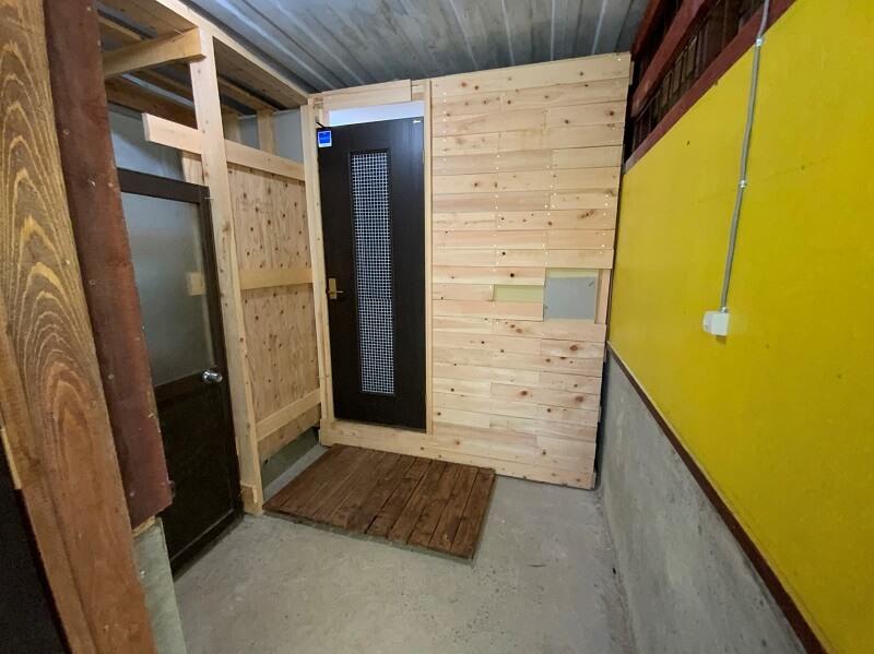 西海橋オートキャンプ場のシャワールーム