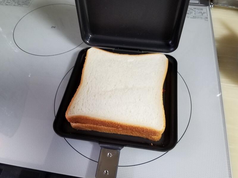 SOTO「トーストサンドパン」パンの耳を切る必要がない