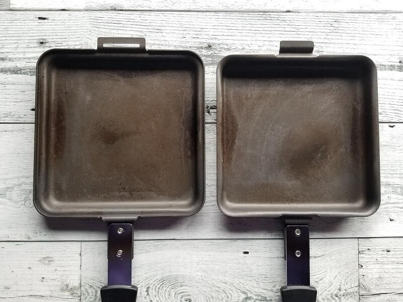 SOTO「トーストサンドパン」は2枚のフライパンになる