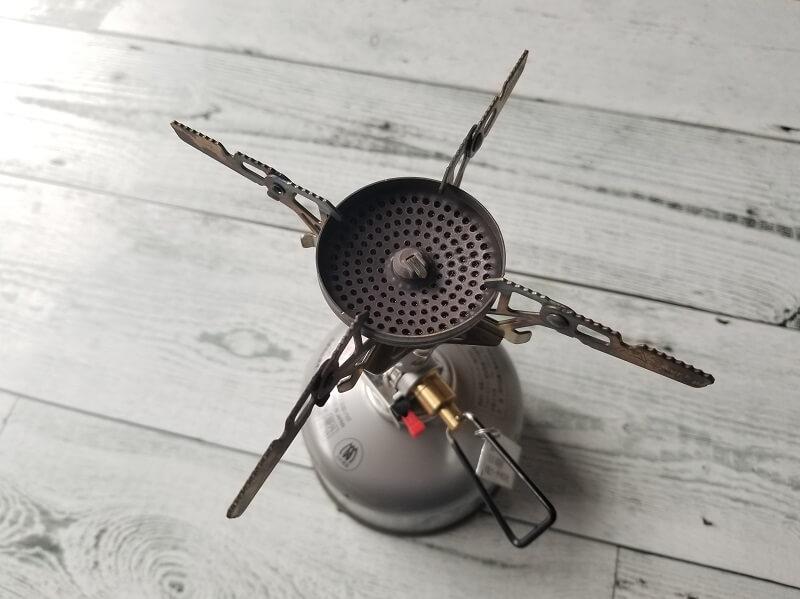 SOTO ウインドマスター専用4本ゴトク「4Flex」装着時