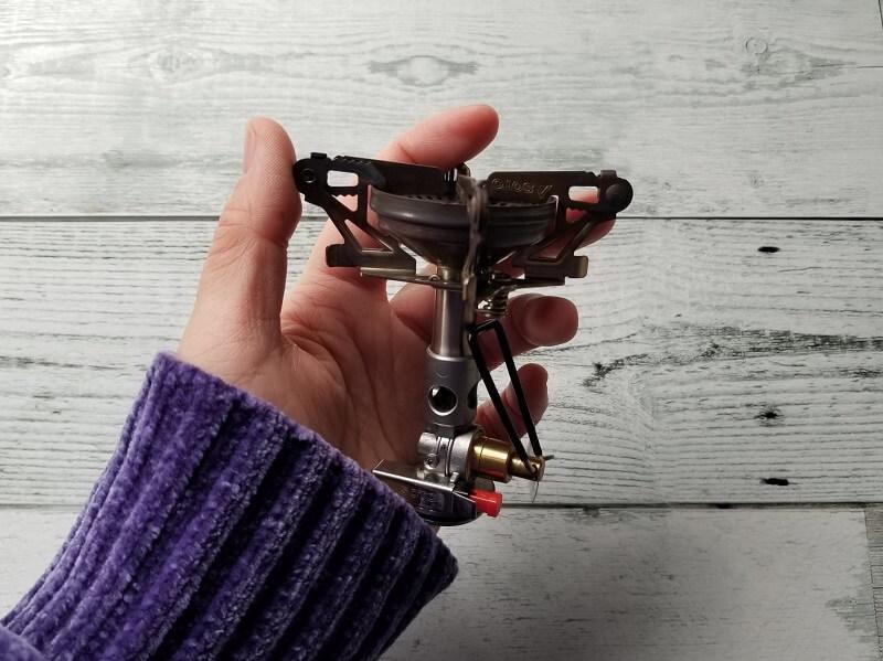 SOTO マイクロレギュレーターストーブ ウインドマスター 手のひらサイズ