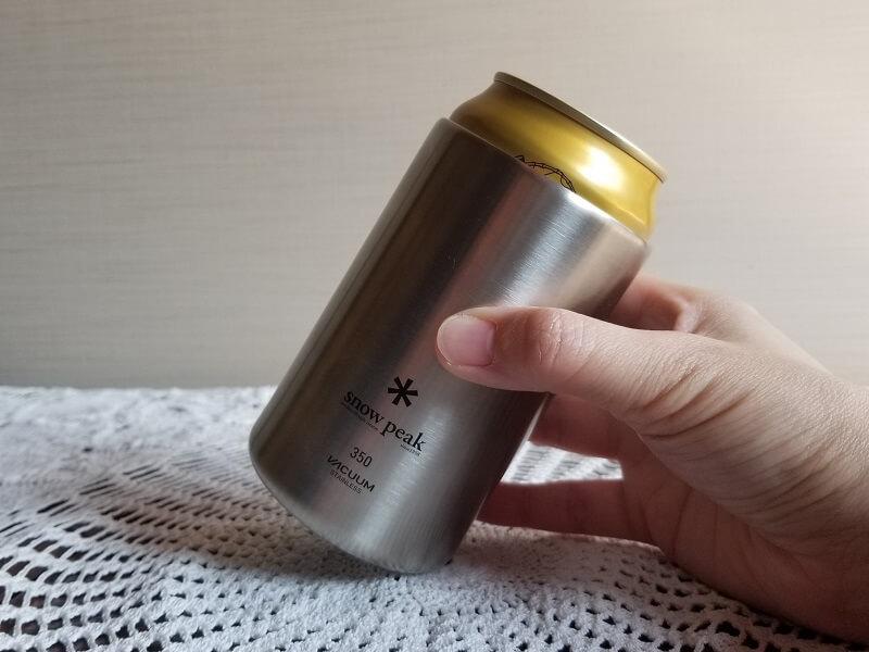 snowpeak「缶クーラー350」の使用方法