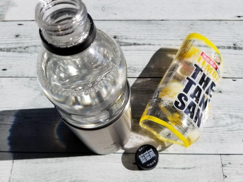 snowpeak「缶クーラー350」にペットボトルを入れる方法