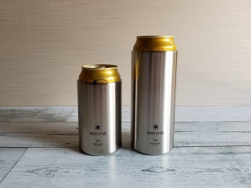 snowpeak「缶クーラー350/500」