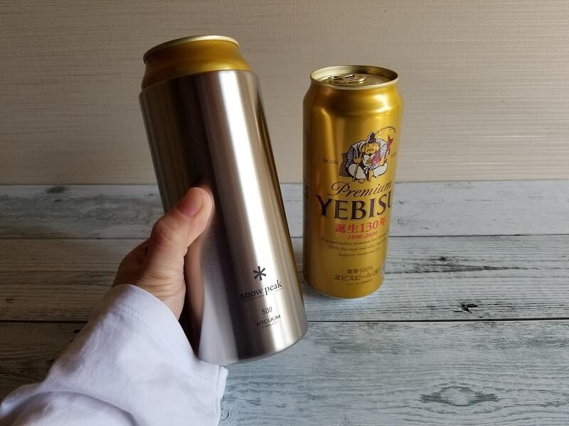 snowpeak「缶クーラー500」も買いました!